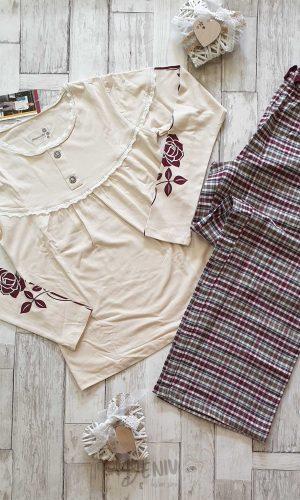 Дамска зимна пижама Роза