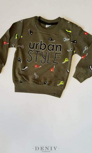 """Детска зимна блуза за момче """"Urban Style"""""""