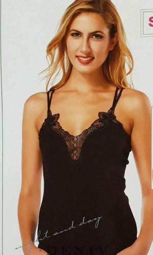 Дамски потник с тънки презрамки