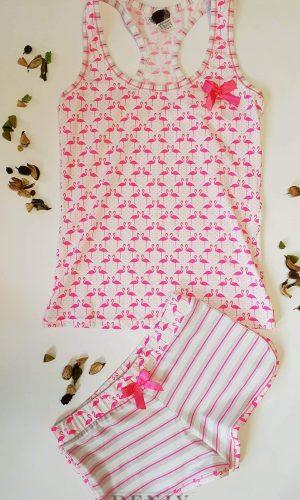 "Дамски комплект ""Розово фламинго"""