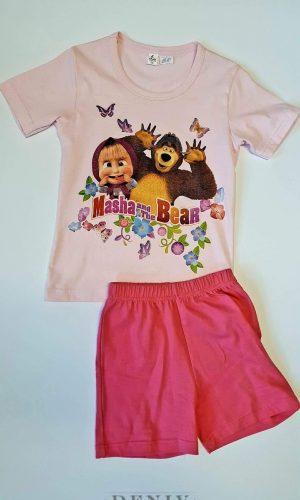 Детска пижама за момиче Маша и мечокът