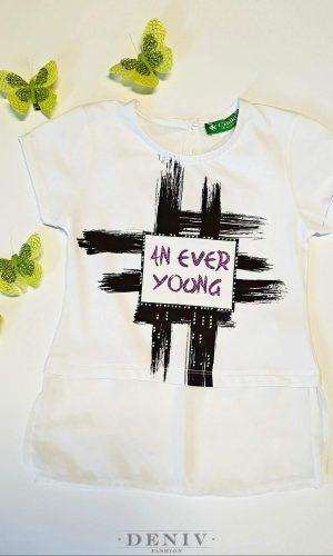 """Детска блуза за момиче """"Ever"""""""