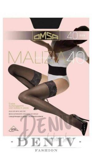 Дамски силиконови чорапи OMSA 40 den