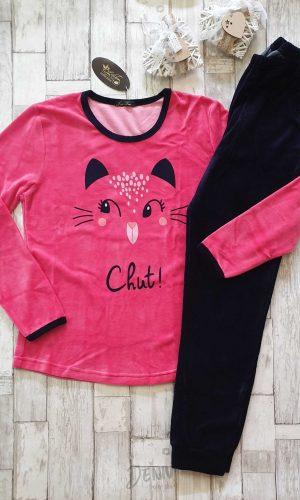 Дамска плюшена пижама Иватекс Chut!