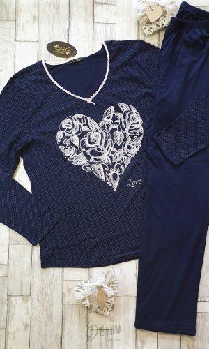 Дамска зимна пижама Иватекс Love