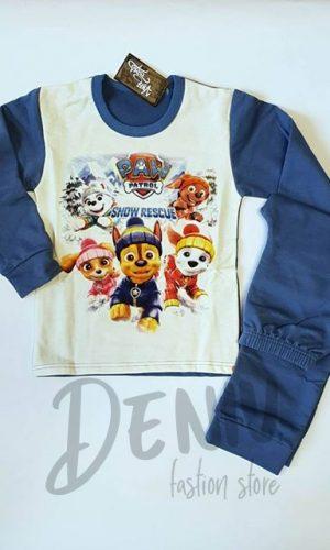 Детска ватирана пижама за момче Paw patrol 2