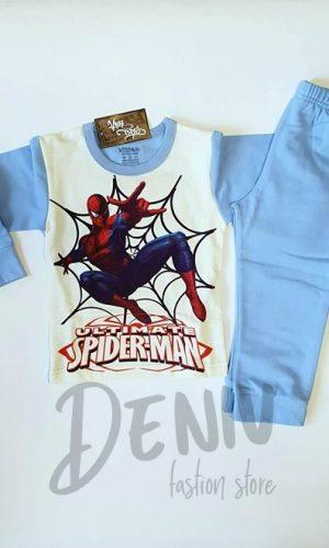 Детска ватирана пижама за момче Spiderman