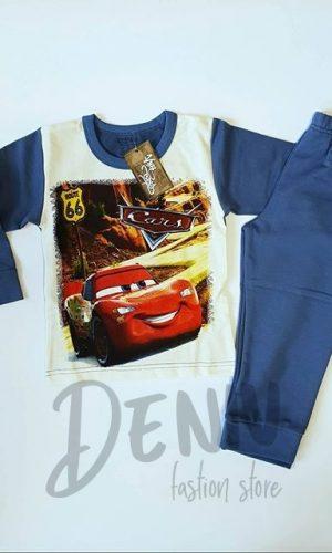 Детска ватирана пижама за момче Cars