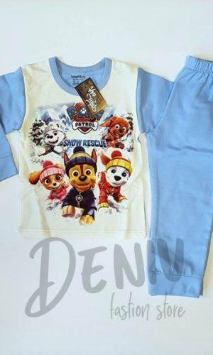 Детска ватирана пижама за момче Paw Patrol
