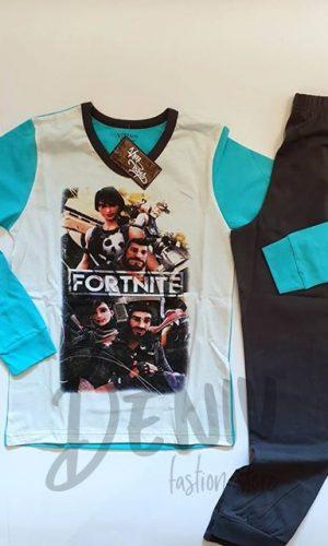 Детска зимна пижама за момче FORTNITE 2