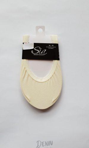 Дамски памучни терлички Sia екрю
