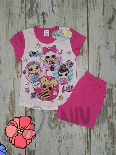 Детска лятна пижама на кукла Lol