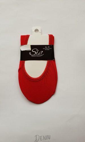 Дамски памучни терлички Sia червено