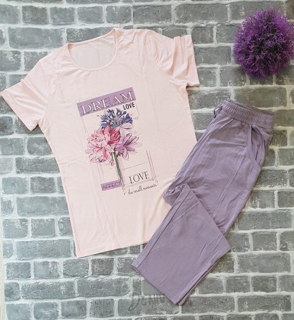 Дамска лятна пижама Афект макси размери