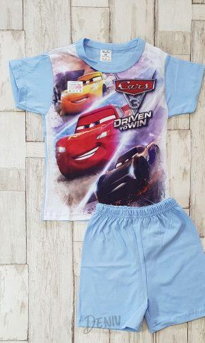 Детска лятна пижама с къс ръкав Car