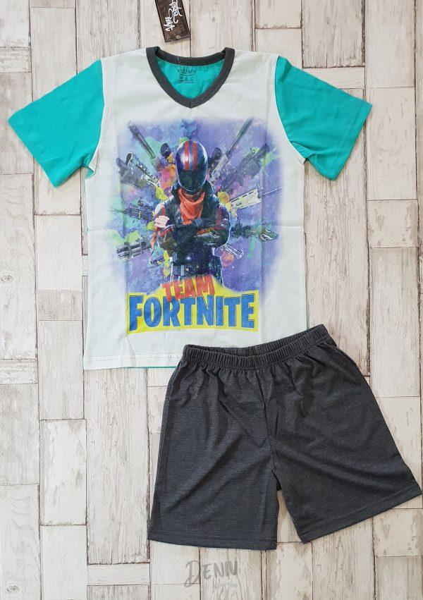 Детска лятна пижама с къс ръкав Fortnite