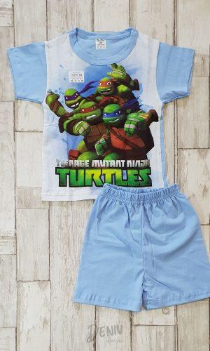 Детска лятна пижама с къс ръкав Костенурките