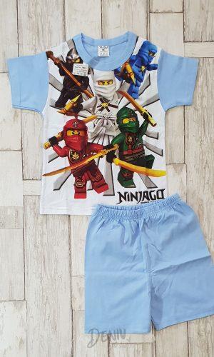 Детска лятна пижама с къс ръкав Лего Нинджи