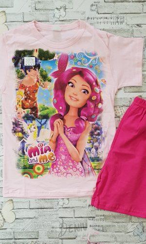 Детска лятна пижама с къс ръкав Миа