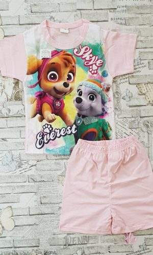 Детска лятна пижама с къс ръкав Скай