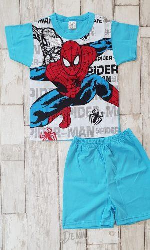 Детска лятна пижама с къс ръкав Спайдърмен