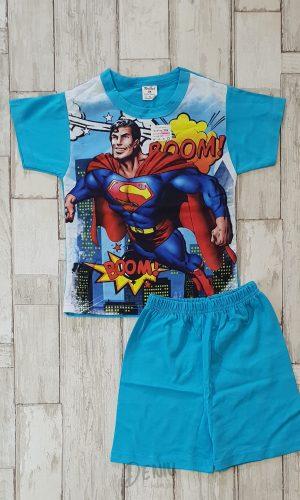 Детска лятна пижама с къс ръкав Supermen