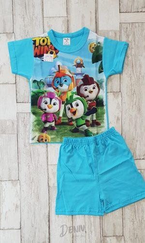 Детска лятна пижама с къс ръкав Top Wing