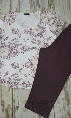 Дамска лятна пижама макси Иватекс