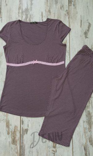 Лятна пижама модал Иватекс с дантелено коланче