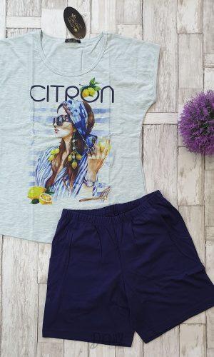 Дамска пижама лятна Иватекс Citron