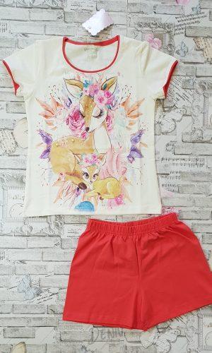 Детска лятна пижама за момиче Венера 9г.- 15г.